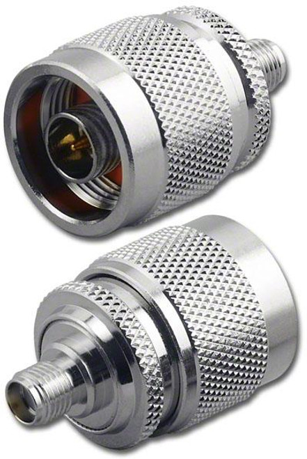 N-Male to SMA-Female Coaxial Adapter (RFA-8683)