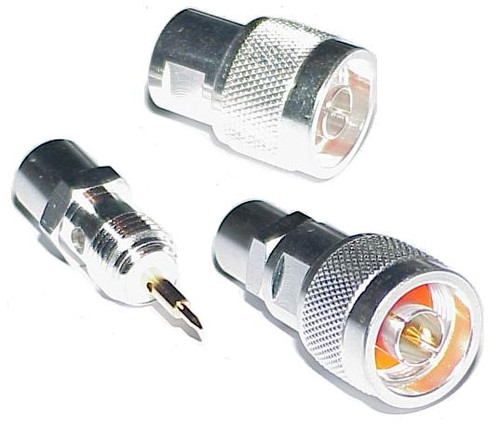 Type N-Male Coaxial Connector for RG-8 & LMR400
