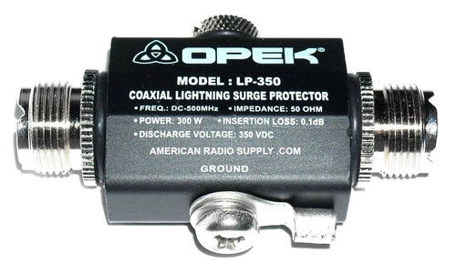 OPEK LP-350A - Arc-Gas Lightning Transient Voltage Surge Protector