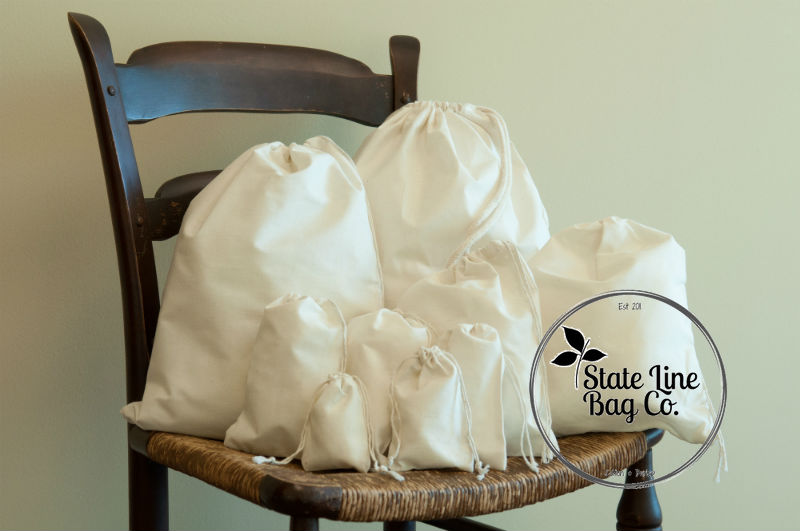 Muslin Cotton Bags Wholesale & Bulk