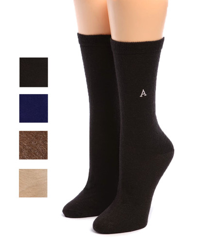 Women's Trouser Alpaca Socks Main showing color options
