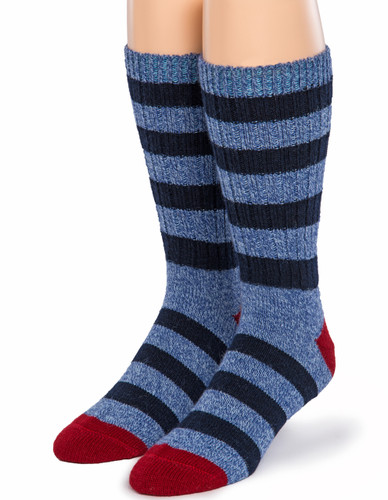 Old School Striped Socks - Front