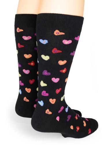 Candy Heart LOVE - Alpaca Socks Back