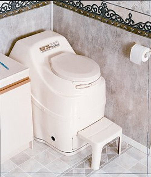Excell-Space Saver Medium Capacity Compost Toilet
