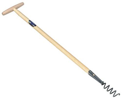 Long Handled Cork Screw Weeder