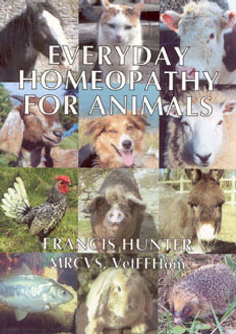 Everyday Homeopathy for Animals by Francis Hunter