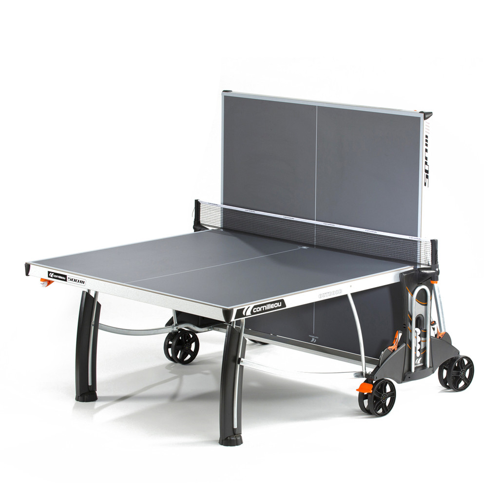 Cornilleau Performance 500M Crossover Indoor/Outdoor Grey Table USA Only Ping Pong Depot Table Tennis Equipment