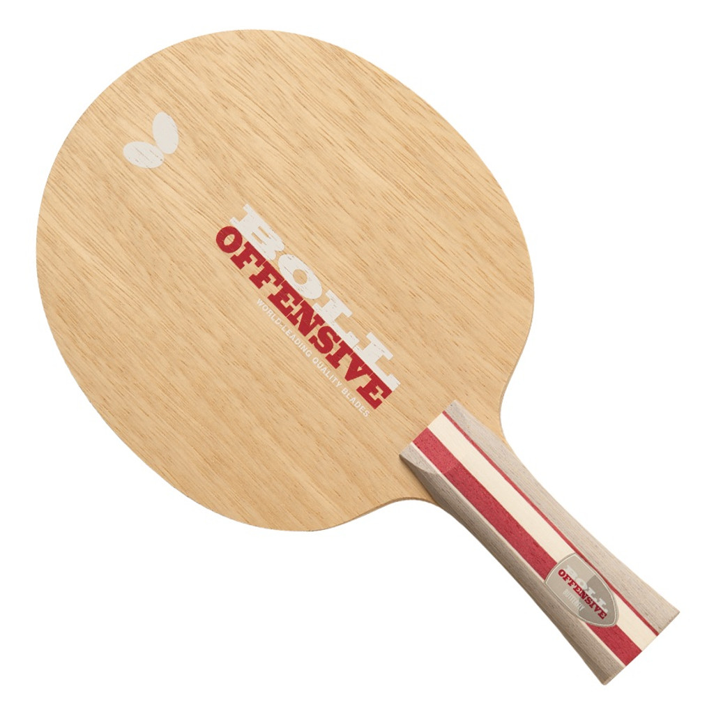 Butterfly Boll Offensive FL Blade Ping Pong Depot Table Tennis Equipment