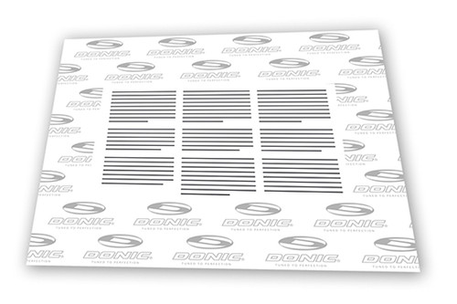 DONIC Glue Sheet Ping Pong Depot Table Tennis Equipment