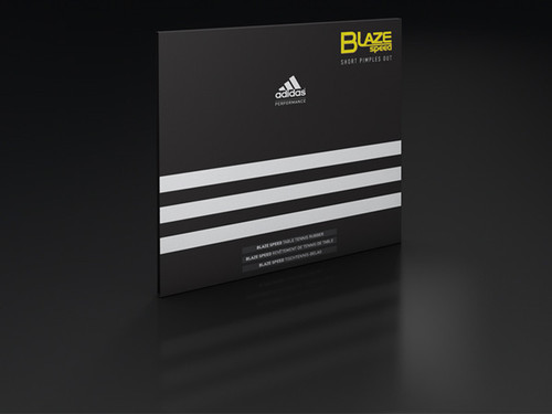 adidas BlazeSpeed Rubber (Short Pips)