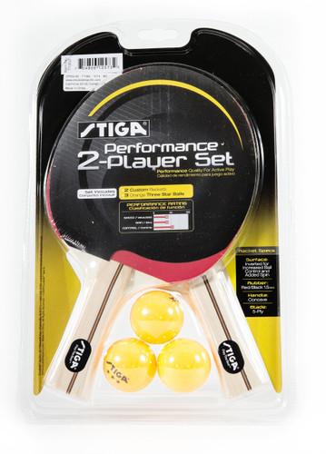 STIGA Performance Two-Player Racket Set