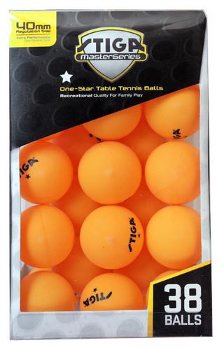 STIGA 1* Balls (pack of 38)