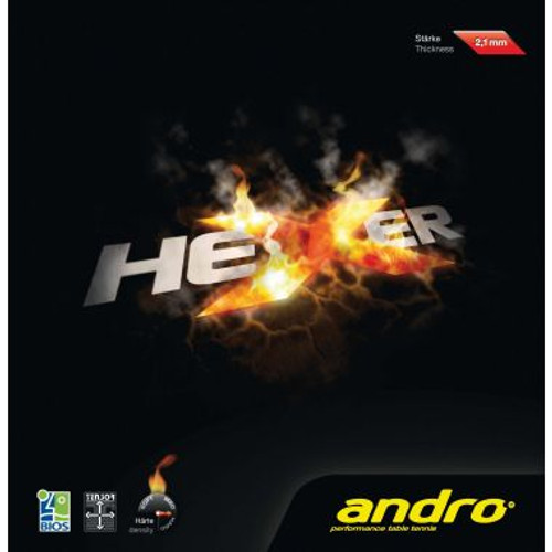 andro Hexer Rubber