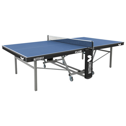 Butterfly Club 25 Rollaway Blue USA only Ping Pong Depot Table Tennis Equipment