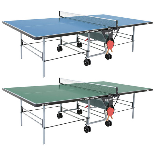 Butterfly Outdoor Playback Rollaway Table Blue (USA only), FREE Ship & Net