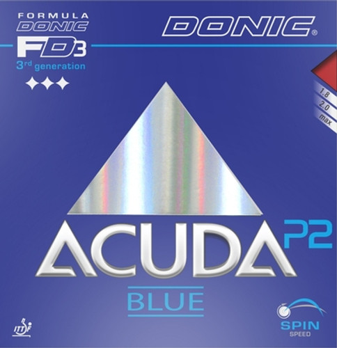 Donic Acuda Blue P2 Rubber Sheet - Weekly Special Save 26%