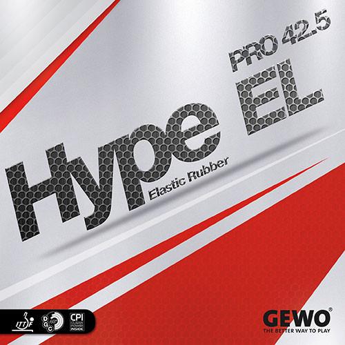 Gewo Hype EL Pro 42.5 Rubber Sheet Ping Pong Depot Table Tennis Equipment