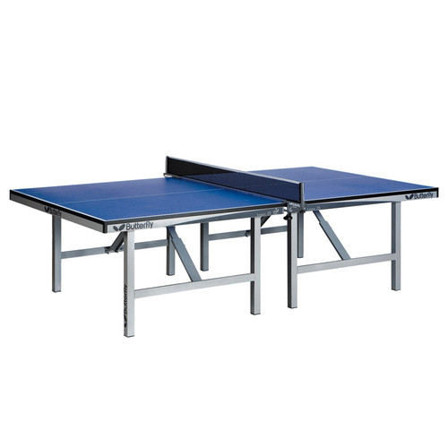 Butterfly Europa 25 Stationary Blue Grey USED, includes shipping and Net Canada Only Ping Pong Depot Table Tennis Equipment