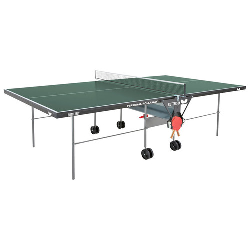 Butterfly Personal Rollaway Table Green Canada only, includes shipping and Net Ping Pong Depot Table Tennis Equipment