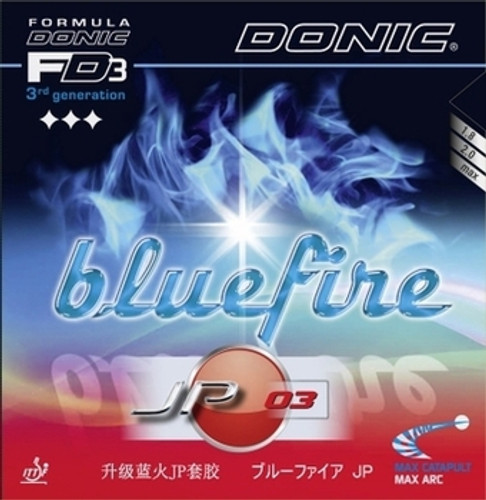 Rubber Sheet for Combo Blade   DONIC Bluefire JP03 Rubber Only with 1 Combo Blade Ping Pong Depot Table Tennis Equipment