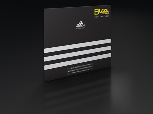 Rubber Sheet for Combo Blade - adidas BlazeSpeed Short-Pips Rubber (Only with 1 Combo Blade)