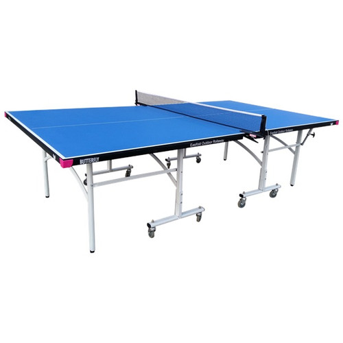 Butterfly Easifold Outdoor Rollaway Blue Table (USA Only) FREE Ship & Net - Daily Special Save 17%