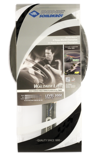 Donic Waldner 3000 Level Racket Ping Pong Depot Table Tennis Equipment