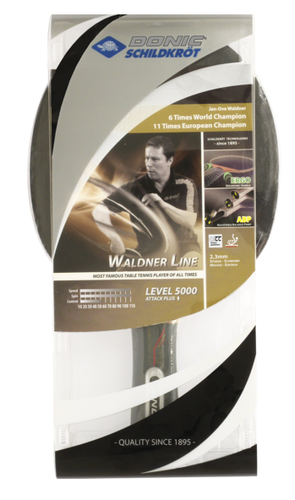 Donic Waldner 5000 Level Racket Ping Pong Depot Table Tennis Equipment