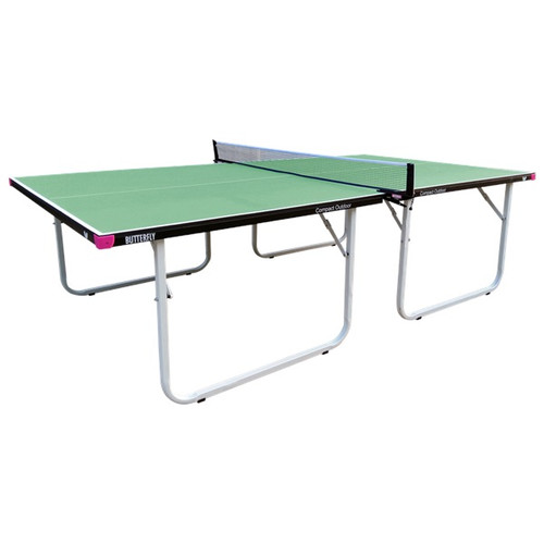 Butterfly Compact Outdoor Green Table, FREE Ship & Net (USA Only)