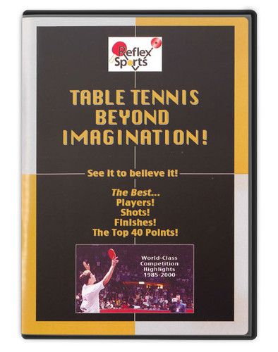 Reflex Sports Table Tennis Imagination DVD