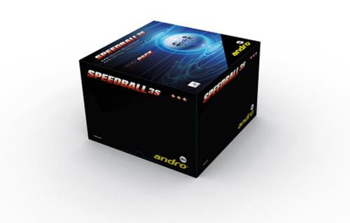 andro Speedball 3S*** White Balls (72) Ping Pong Depot Table Tennis Equipment
