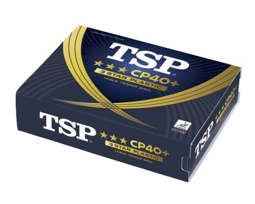 TSP CP40+ 3***  ABS Neutral White balls (12) - Bulk Price
