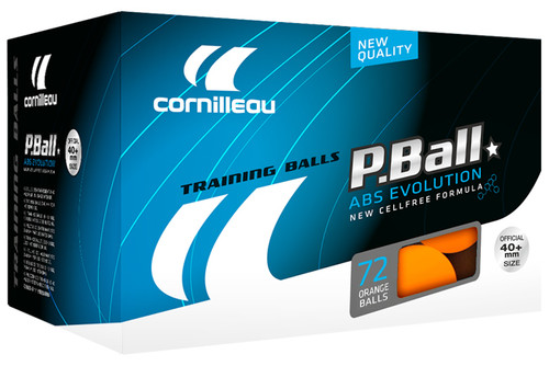Cornilleau P-Ball ABS-Evolution 40+ 1* Balls (pack of 72)