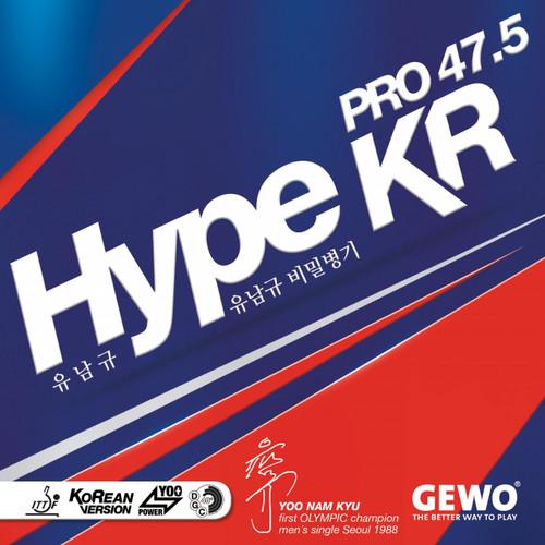 Gewo Hype KR Pro 47.5 Rubber Ping Pong Depot Table Tennis Equipment