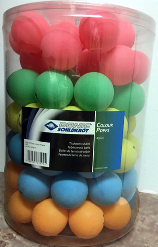 DONIC Schildkröt Color Popps Plastic 40+ Balls pack of 90 Ping Pong Depot Table Tennis Equipment