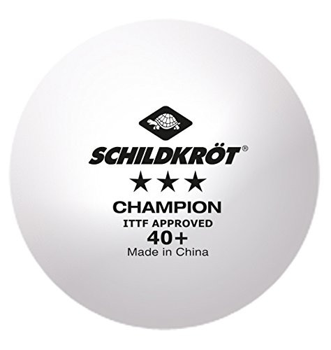 Schildkröt Champion 3*** Plastic 40+ White Balls (pack of 120)