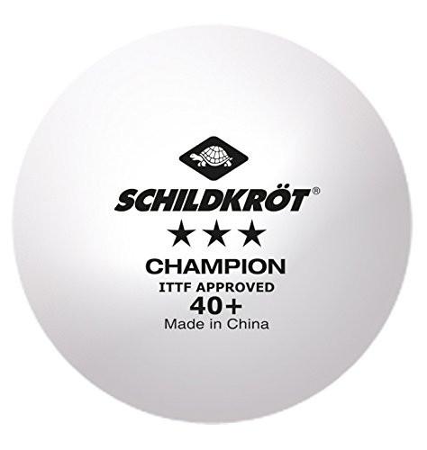 Schildkröt Champion 3*** Plastic 40+ White Balls (pack of 120) - Weekly Special Save 33%