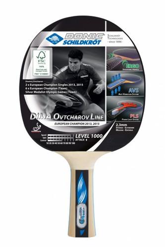 Donic-Schildkröt Ovtcharov Line Level 1000 FSC Racket