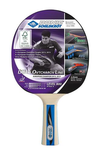 Donic-Schildkröt Ovtcharov Line Level 800 FSC Racket