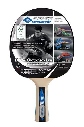 Donic-Schildkröt Ovtcharov Line Level 900 FSC Racket