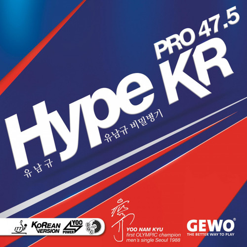 Rubber Sheet for Combo Blade - Gewo Hype KR Pro 47.5 Rubber Sheet (Only with 1 Combo Blade)