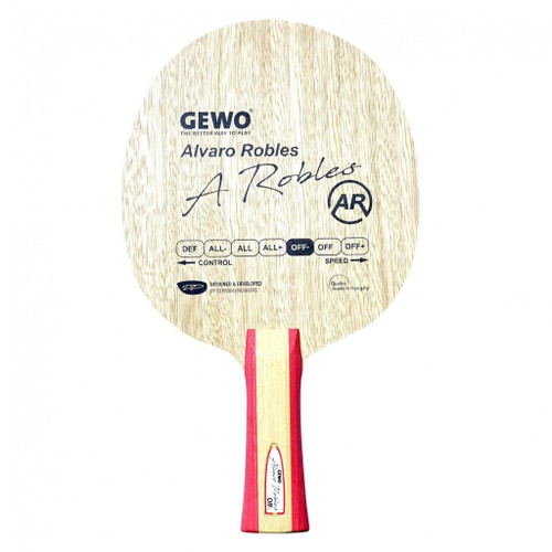 Combo – Gewo Alvaro Robles OFF- FL Blade for combo (Add 2 Combo Rubber Sheets) Ping-Pong Depot Table Tennis Equipment