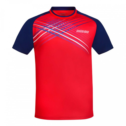 DONIC Attack Red/Navy T-Shirts