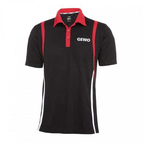 GEWO Rovigo S18-7 Black-Red Shirt