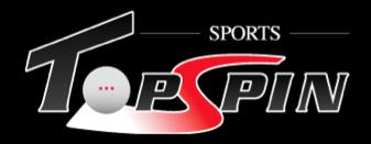Sports Topspin Logo Table tennis equipment retailer