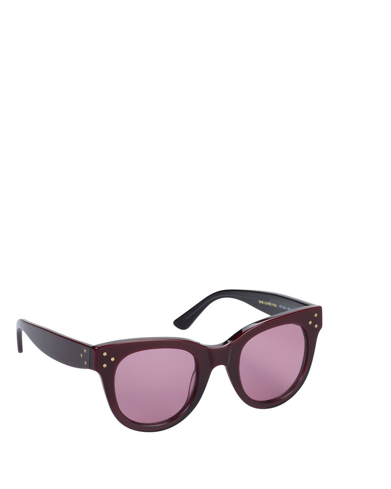 Spektre SY04s Olympia Sunglasses Bordo side view