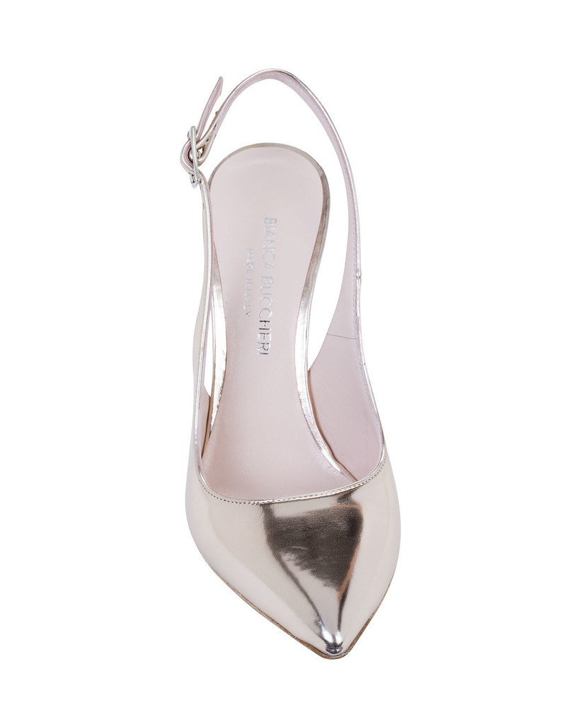 Bianca Buccheri 4009bb Minna Pump Rose Gold front view