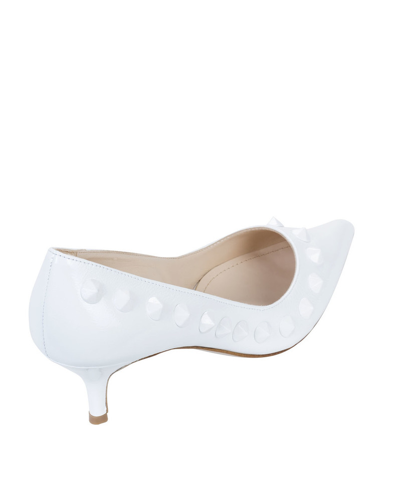 Bianca Buccheri INGRIDbb Ingrid Pump White back view