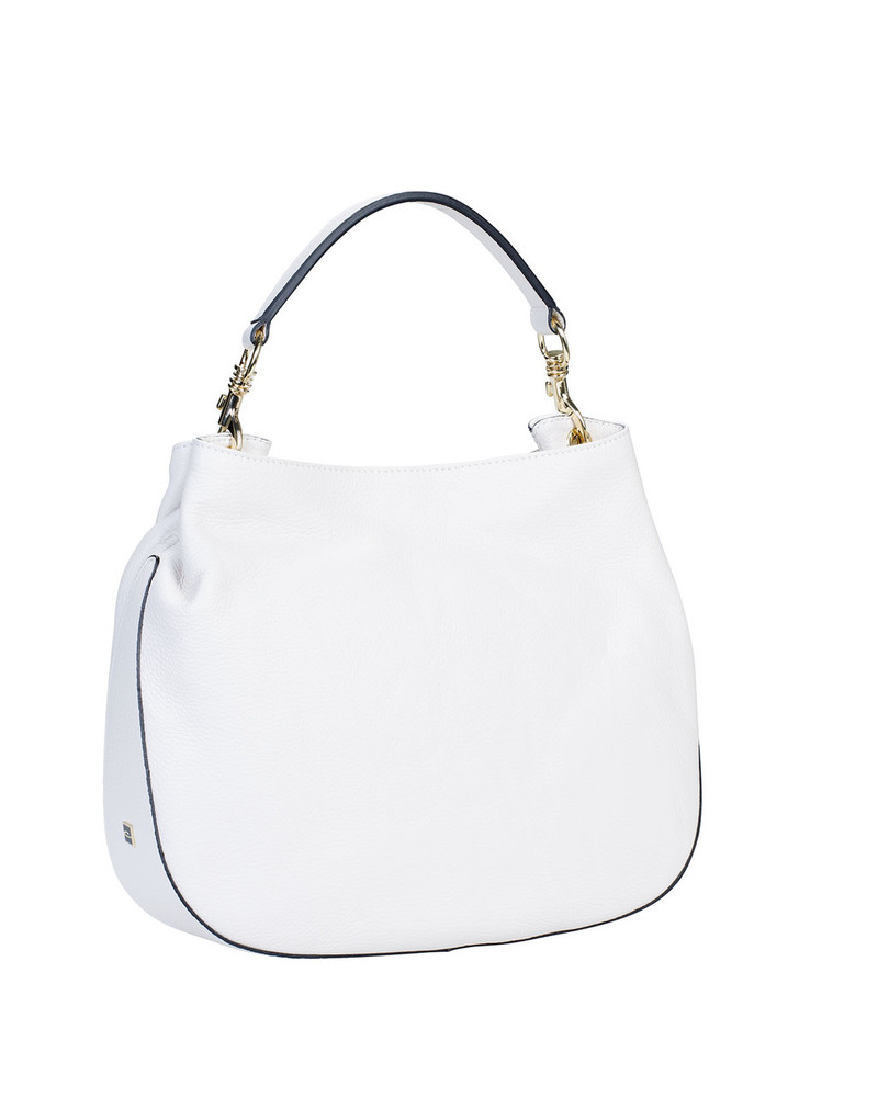 Gianni Chiarini White leather shoulder bag lODw9Vbo