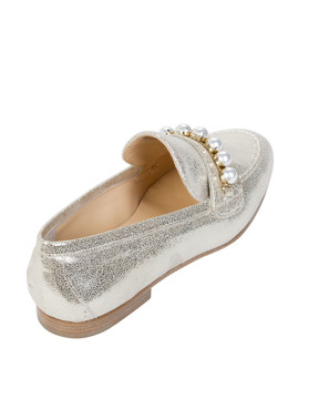 Bianca Buccheri ZENAbb Zena Loafer Gold back view